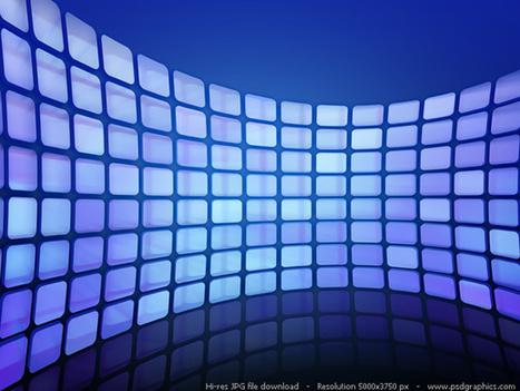 Abstract pixel wave background | PSDGraphics | Diseño y Creatividad | Scoop.it