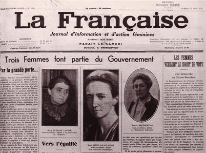 21 avril 1944 : Les femmes obtiennent le droit de vote | le droit de vote des femmes | Scoop.it