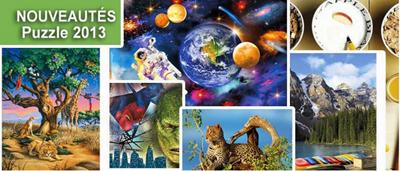 Nouveautés puzzles 2013: découvrez les nouveaux puzzles et accessoires chez jeu-puzzles.com | Jeux store | Scoop.it