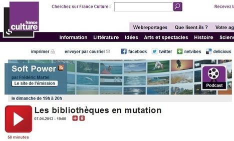 Évolution du métier de bibliothécaire: conversa... | L'évolution du métier de bibliothécaire | Scoop.it