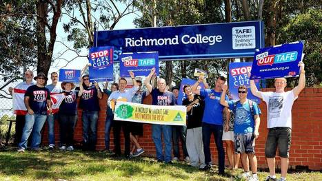 Students outraged by TAFE cuts | Australian Institute for Professional Practitioners in Vocational Education and Training | Scoop.it