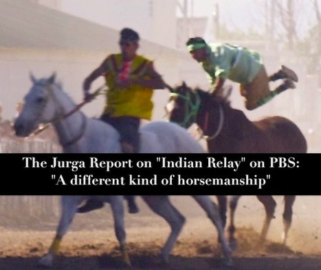 Indian Relay Documentary on PBS Shows Horses and Riders Racing for the Tribe in the American West | Horse and Rider Awareness | Scoop.it