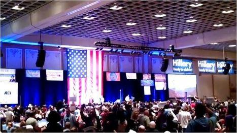 'WE NEED A MEDIC!' Hillary, Bernie delegates clash at NV Dem convention   United States Politics   Scoop.it