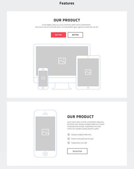 18 Free UI and Wireframe Kits   programming   Scoop.it