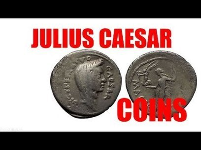 JULIUS CAESAR Authentic Ancient Roman Coins for Sale   eBay   Personalized Bithday Gifts Presented by TrustedCoins.com Ancient Coins Gift Shop   Scoop.it