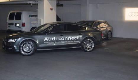 ¿Un coche que aparque y después te recoja de forma autónoma? Audi dice que sí   Uso inteligente de las herramientas TIC   Scoop.it