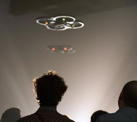 «Drone-2000» - performance de Nicolas Maigret / Gamerz-Festival #10 - #mediaart #artnumerique | arslog | Scoop.it