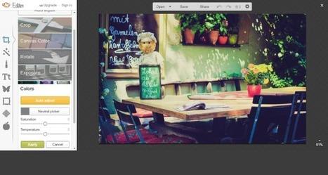 5 Programas de Retoque Fotográfico en línea vía @javiersanchezbo   Recursos Pedagógicos   Scoop.it