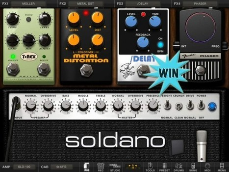 Win AmpliTube For iPhone Or iPad And Unleash Your Guitar Playing Fury - AppAdvice | iPhones and iThings | Scoop.it