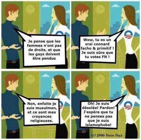 Les fachos gauchistes se trahissent ! Vous voulez stopper l'islamisation, le fascisme gauchiste.. | Islam : danger planétaire | Scoop.it