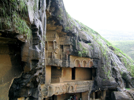Bhaja (Bhaje) Leni Ancient Rock-cut Caves Monastery | Ancient Castles & Monasteries | Scoop.it