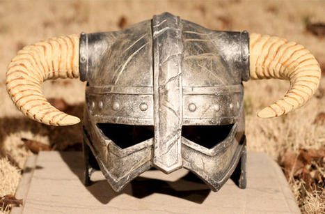 Real Skyrim Dragonborn Helmet Still Won't Save You from an Arrow to the Knee | All Geeks | Scoop.it