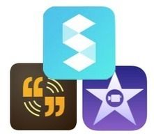 The perfect iPad creation trifecta: iMovie, Storehouse, and Voice | information literacy | Scoop.it