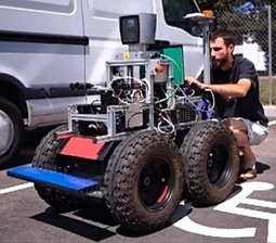 Le LAAS de Toulouse met au point un robot roulant autonome | Gizmodo | Robotique de service | Scoop.it