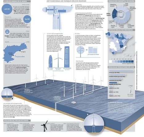 Así funciona un parque eólico marino #infographic #infografía | Infraestructura Sostenible | Scoop.it