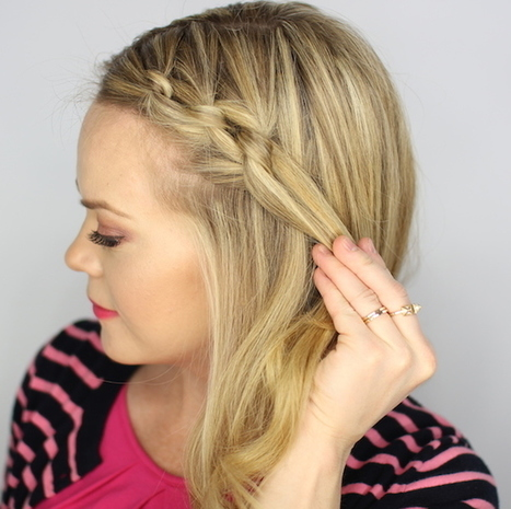 Get The Look Easy Hair Tutorial: How To Create A Knotted Updo | Bazaar | Scoop.it