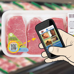 QR codes showcase 'We Care' videos - Pork Magazine | QR Code - NFC Marketing | Scoop.it