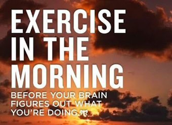 Exercises and Workouts - Three Good Reasons To Exercise Early in the Morning ~ Best4Fit | Health & Fitness | Scoop.it