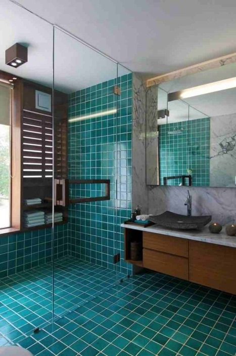 20 Bathroom Tile Styles   Decozilla   Aglika Stoyanova   Scoop.it