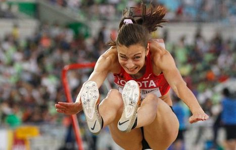 Pony tail costs long jumper gold medal | Quite Interesting News | Scoop.it