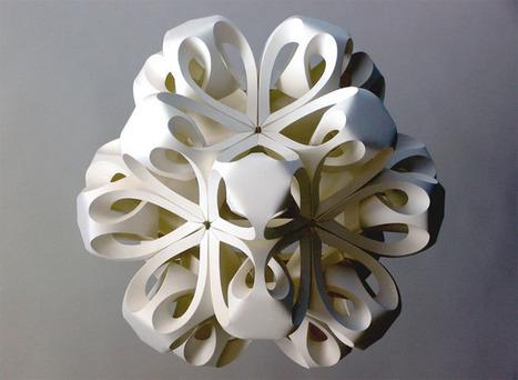 A Three-dimensional Paper Snowflake | arslog | Scoop.it