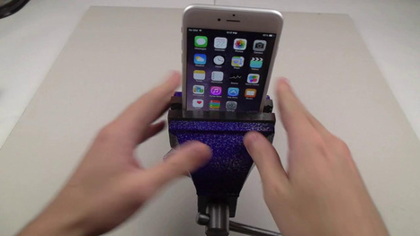 iPhone 6 Plus Extreme Bend Test | Hairstyles 2014 | Scoop.it
