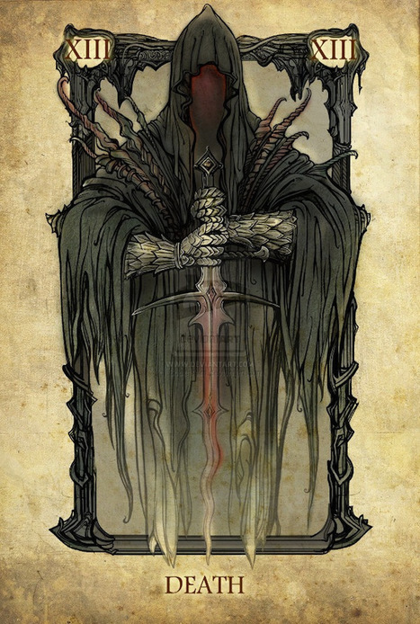 Lord of the Rings Tarot Card Art | InPeople | Scoop.it