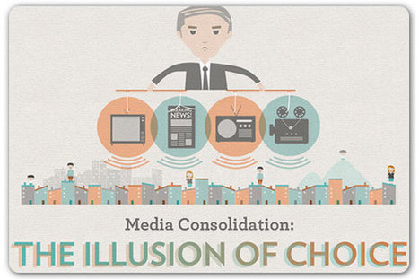 Six media giants control 90 percent of the content we consume | visualizing social media | Scoop.it