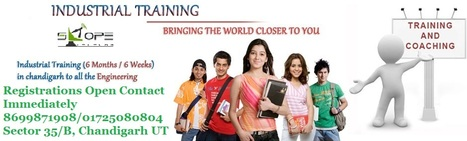 INDUSTRIAL TRANING FOR BE/B:TECH &DIPLOAMA CANDIDATES | Telecom Company in Chandigarh | Scoop.it