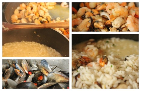 SeaFood Risotto o Risotto ai Frutti di Mare | Le Marche and Food | Scoop.it