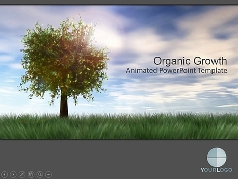 Creative Presentation Template design for PowerPoint with Animated Meadow | PowerPoint Tips & Presentation Design | Scoop.it