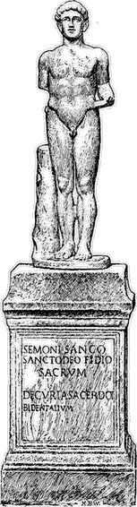Sancus, dios de la lealtad, honestidad y el juramento. | Dioses De Roma | Scoop.it