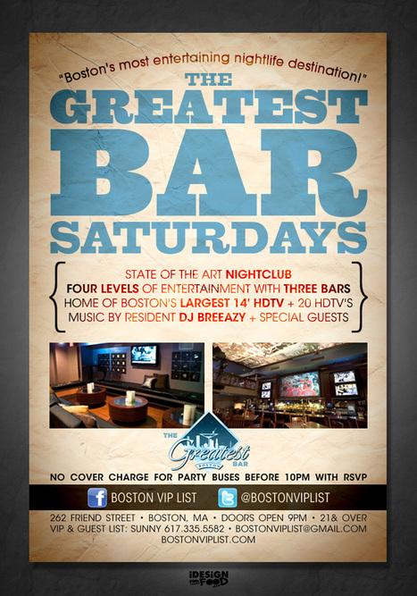 January 25 @ The Greatest Bar | Boston Nightlife | Scoop.it