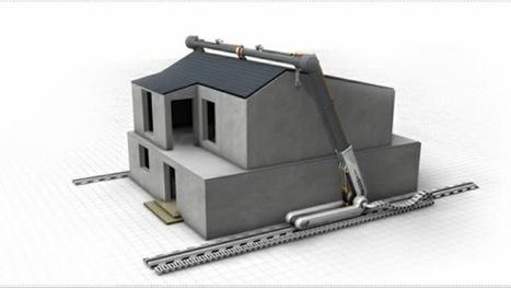 Video: Una impresora 3D gigante capaz de construir una casa en menos de un día | Tecnología e información | Scoop.it