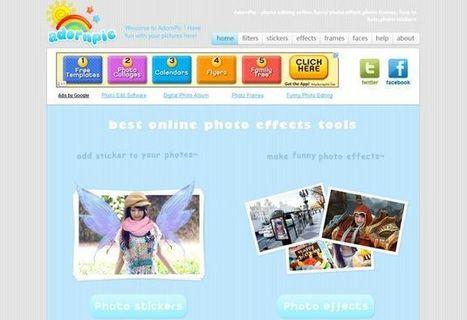 AdornPic: webapp gratuita para hacer fotomontajes, aplicar filtros y efectos... | Idees , eines i material educatiu per l'escola del segle XXI | Scoop.it