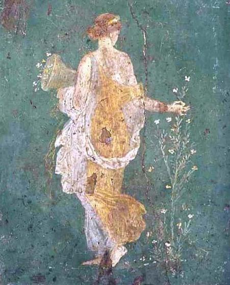 Fresco de Flora | Historia de la Belleza | La Cultura y El Arte Del Imperio Romano | Scoop.it