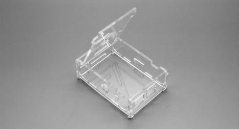 $4.45 Raspberry Pi Fully Transparent Housing Box - screwless design / 3 heatsinks included at FastTech - Worldwide Free Shipping | Raspberry Pi | Scoop.it