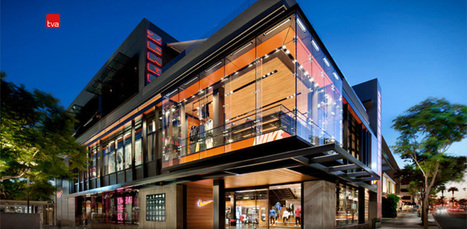 Nike Field house by TVA Architects, Santa Monica | Retail Design Review | Scoop.it