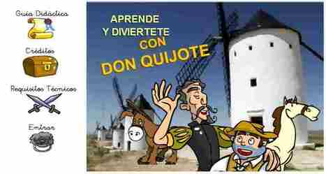 Aprende y diviértete con Don Quijote | TIC JSL | Scoop.it