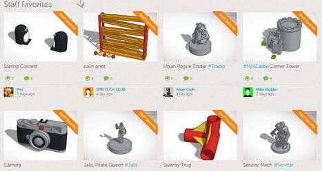 Delightful little things come out of 3D printer. | 1-MegaAulas - Ferramentas Educativas WEB 2.0 | Scoop.it