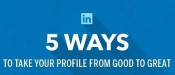 Five Simple Ways to Boost Your Professional Brand On LinkedIn [INFOGRAPHIC] | Guerrilla Resumes | Scoop.it