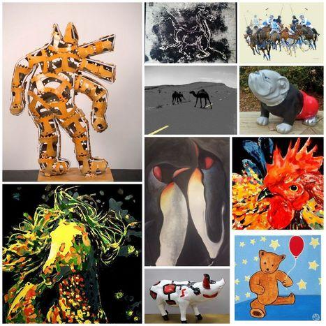 Expo Les animaux vus autrement ! - Galerie Numéro 1 | Art Exhibition in Paris | Scoop.it