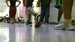 Gym-less high school students forced to run in hallways for physical education - New York's PIX11 / WPIX-TV   Ipads in Physical education   Scoop.it