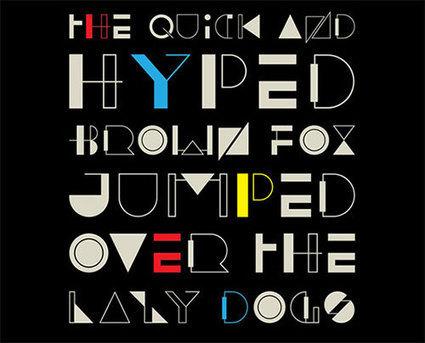 33 Unique And Creative Free Fonts | designrfix.com | Designer's Resources | Scoop.it