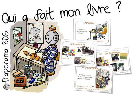 Qui a fait mon livre ? Diaporama sur les auteurs,  illustrateurs.... | CDI RAISMES - MA | Scoop.it