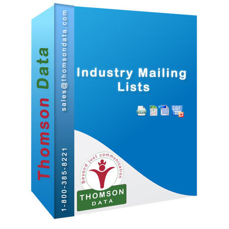 Industry Mailing Lists | Industry wise Email Lists | Thomson Data | Mailing List - Mailing List Database - Mailing List Provider | Scoop.it