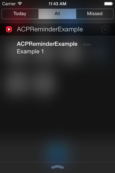 ACPReminder for iOS - Cocoa Controls | iOS Utils | Scoop.it