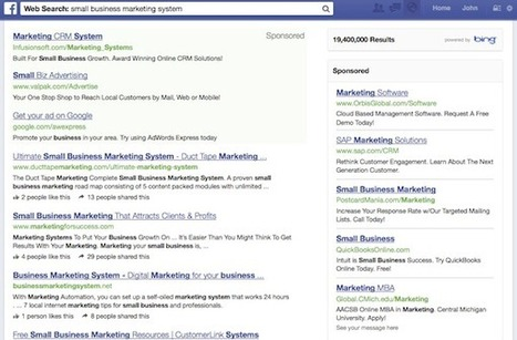 Bing and Facebook Search and Ads | Social Media Marketing Tools | Scoop.it