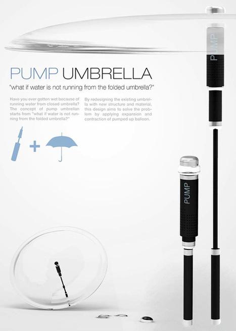 Pump Umbrella by Kiho Jung and Mingyeon Jang » Yanko Design | TRIZ et Innovation | Scoop.it