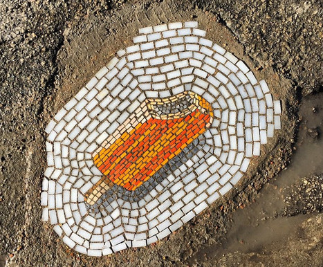 El artista que transforma los baches en mosaicos | Educacion, ecologia y TIC | Scoop.it